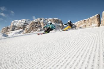 Alta Badia verbindet Skifahren und Genuss.