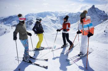 Der Name ist Programm: Les 3 Vallées erstreckt sich über drei Täler.