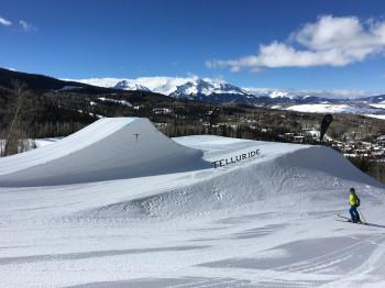 Telluride liegt auf Platz 9 der weltweit höchsten Skigebiete.