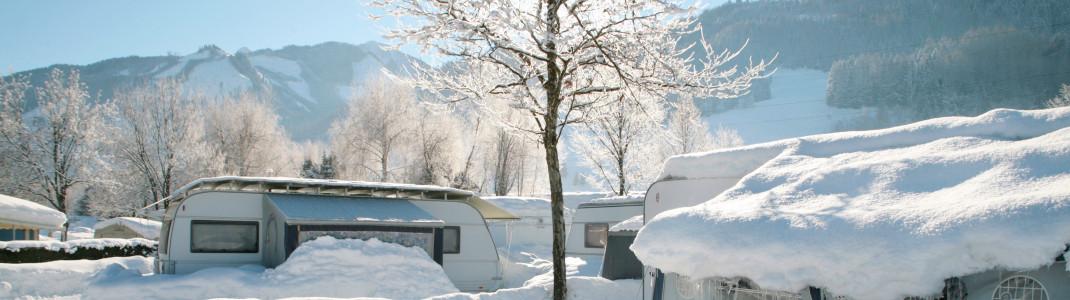 Viele Campingplätze bieten komfortable Wellnessbereiche, so auch das Sportcamp Woferlgut.