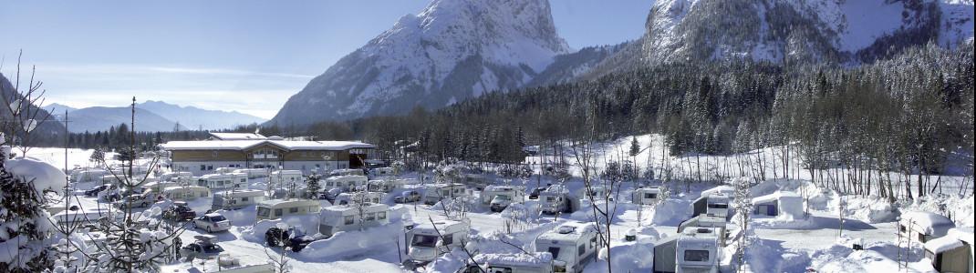 Das TIROL.CAMP Leutasch ist eine Top-Destination für Langläufer.