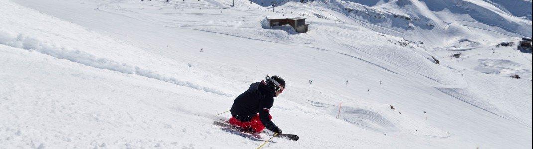 Die Pisten rund um Oberstdorf sind das Highlight der Deutschen Alpen