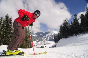 Jede Menge Powder erwartet Wintersportler im Skigebiet Krinnenalpe-Nesselwängle
