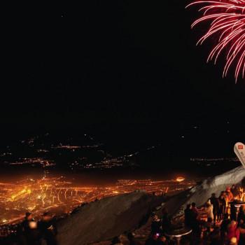 Wer ein Silvester-Ticket auf die Nordkette ergattert, der startet mit einer wunderbaren Aussicht ins neue Jahr.