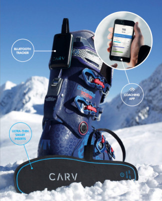 Last year, digital ski instructor Carv was tested in Schladming.