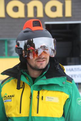 Der Mohawk ist der erste Skihelm mit Augmented Reality.