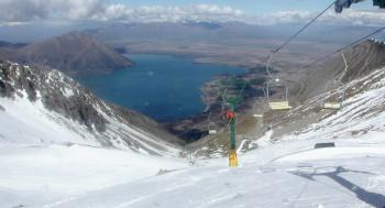 In Neuseeland ist Felix Neureuther vom Skigebiet Ohau Snow Fields begeistert.