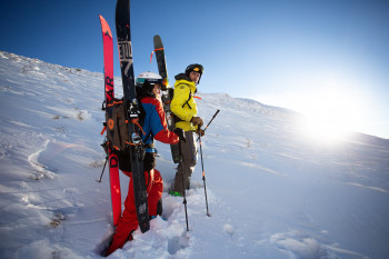 Join the Freeride-Experts to explore the best powder runs in Fieberbrunn.