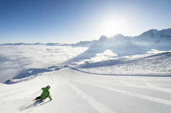 Mit dem Snow Deal der Oberengadiner Bergbahnen sparen vor allem Frühbucher.