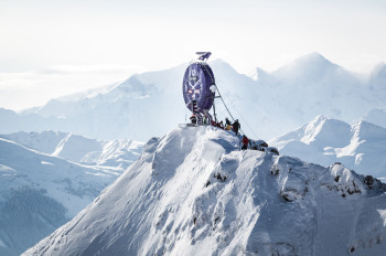 Breathtaking starting point: The peak of the Wildseeloder in Fieberbrunn, Austria.