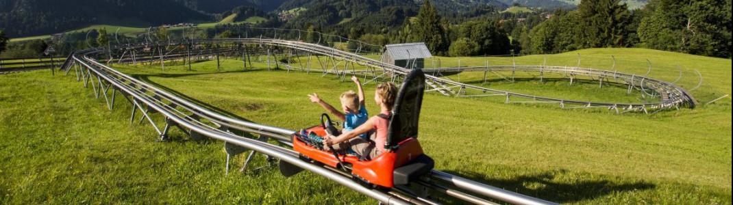 Der Allgäu Coaster ist trotz Bauarbeiten im Sommer 2020 geöffnet.