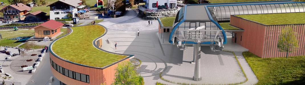 Die neue Söllereckbahn ist das Herzstück der Modernisierungen am Familienberg.