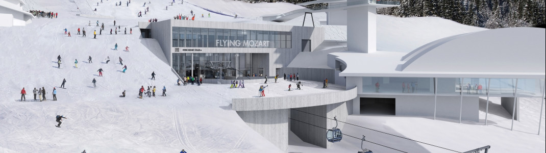 Der Neubau der Flying Mozart Kabinenbahn in Wagrain wird um ein Jahr verschoben.