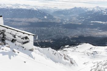 Schnee, Sonne und fantastische Aussicht auf die Landeshauptstadt Innsbruck