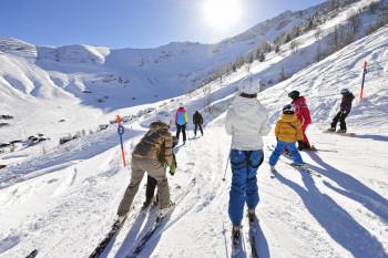 Das Skigebiet Malbun bietet 23 Pistenkilometer.