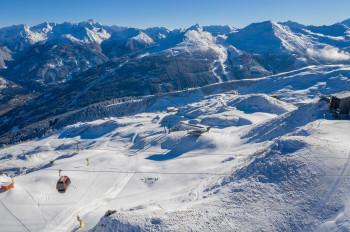 Traumpanorama und abwechslungsreiche Pisten - das erwartet Wintersportler in Gastein.