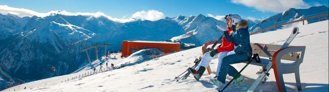 Bei der Gastein Trophy gibt's einen Skiurlaub für zwei zu gewinnen.