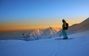 Perfekte Pistenbedingungen herrschen im Skigebiet Damüls-Mellau auch noch in den Nachmittagsstunden.