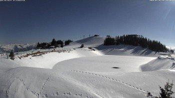 Winterliche Bedingungen gibts es auch noch im Skigebiet Wilder Kaiser Brixental