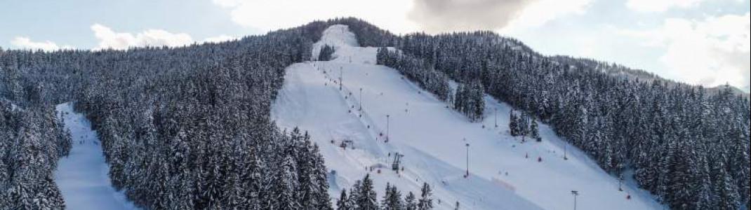 Das Skigebiet am Götschen liegt bei Berchtesgaden an der bayerisch-österreichischen Grenze.
