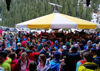 Pictures like these from the après-ski in the Stubaital will not be seen this winter.