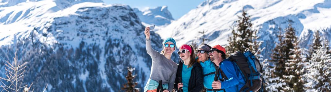 Gewinne ein Skiwochenende für dich und drei deiner Freunde in Savognin Bivio Albula!