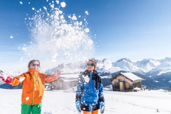 In Savognin Bivio Albula erwartet dich der Winter in seiner ganzen Vielfalt.