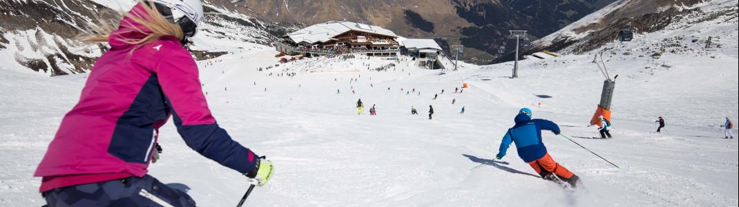 Das Ganzjahresskigebiet am Hintertuxer Gletscher ist ab 29. Mai wieder geöffnet.