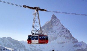 Das Matterhorn Paradise in Zermatt erreicht den ersten Platz bei den Top-Gletscherskigebieten