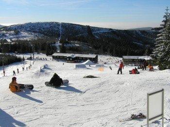 In Spindlermühle gibt es einen der größten Funparks in der tschechischen Republik.