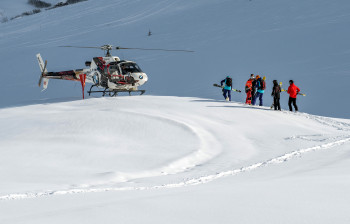 Heliskiing in Austria is only possible at Ski Arlberg.