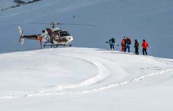 Heliskiing ist in Österreich nur am Arlberg möglich.