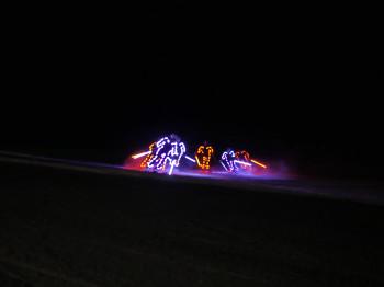"""Bunte Lichter und einzigartige Skiformationen - bei """"Hochfügen Nacht"""" kommst du aus dem Staunen gar nicht mehr heraus!"""