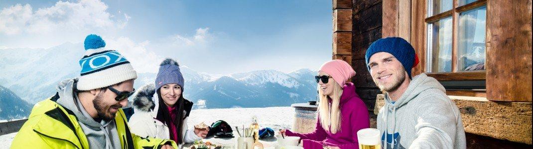 Hochgenuss auf den Hütten im Salzburger Land