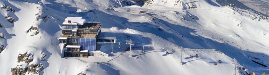 Auf 2340 Metern entsteht die Bergstation des neuen Wimbachexpress.