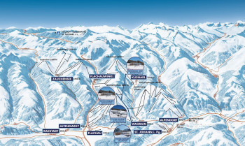 As of the 2020/21 season, one ski pass will take you from Alpendorf to Zauchensee.
