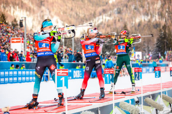 Once again, the biathletes will come to Ruhpolding in mid-January.