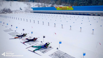 The World Cup in Oberhof will take place in January 2022.