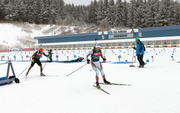 In early January, the biathletes will be back in Oberhof, Thuringia.