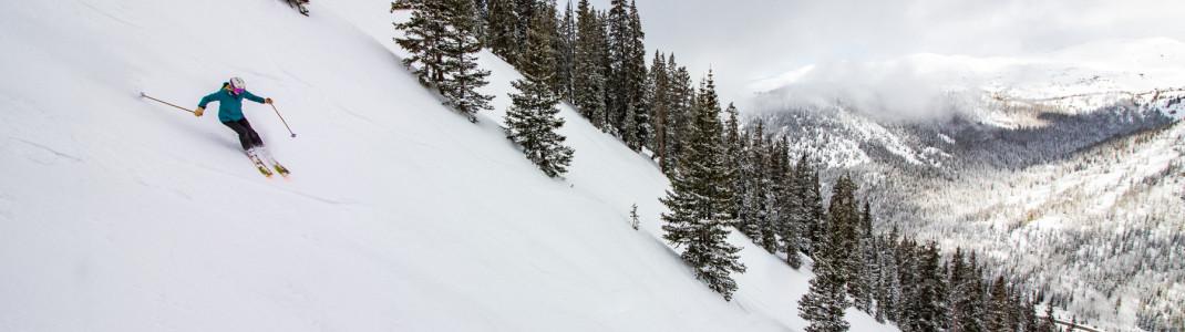 41 Skigebiete gehören zum Ikon Pass.