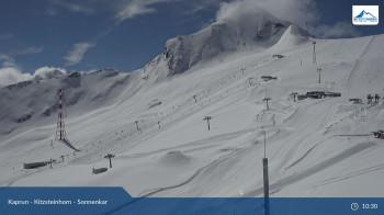 450cm Schnee liegen aktuell am Kitzsteinhorn.