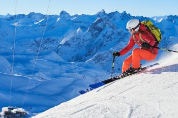 130 Pistenkilometer und traumhafte Aussichten - das bieten die vier Skigebiete der Zwei-Länder-Skiregion Oberstdorf Kleinwalsertal.