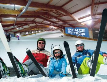Die längste Indoor-Piste der Welt befindet sich derzeit im Alpincenter Bottrop