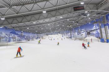 Pulverschnee erwartet dich in der Skihalle in Neuss
