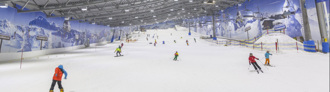 Fun on the slopes and powder snow in the Jever Fun Skihalle Neuss
