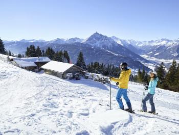 Der Patscherkofel ist der Hausberg von Innsbruck.