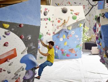 Bis zu 50% Rabatt gibt es beim Eintritt in die Kletterhalle in Telfs.