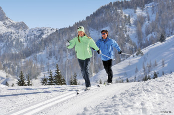 Auch Langlaufen ist mit der Welcome Card in Innsbruck kostenlos.