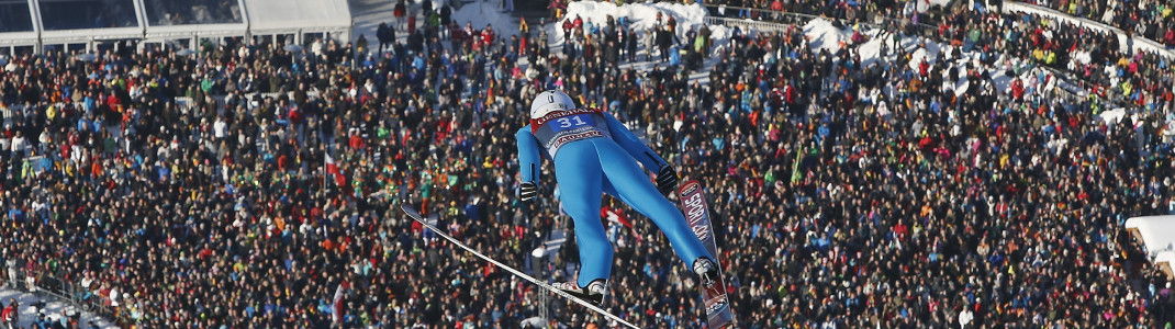 The Four Hills Tournament is a crowd puller.