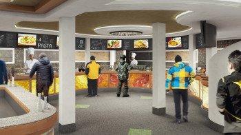 So soll der neue SB-Bereich im Restaurant Alp Trida nach der umfassenden Modernisierung aussehen.